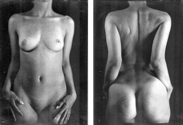 Chuck Close, Untitled Torso (KWII), 2000, daguerreotype