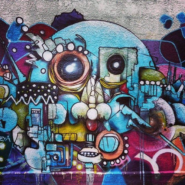 Street Art #graffiti #streetart #christchurch #chch #newzealand #rise   Flickr: Intercambio de fotos