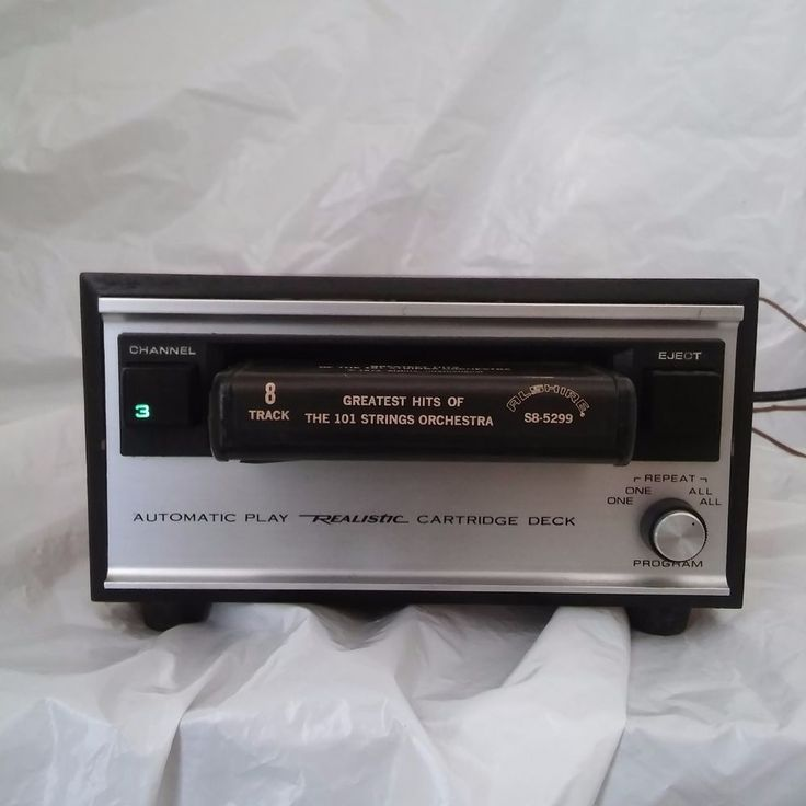 Vtg Japan Realistic 8-Track Stereo Player TR-175B  40W 117V  4 Channel Automatic #Realistic