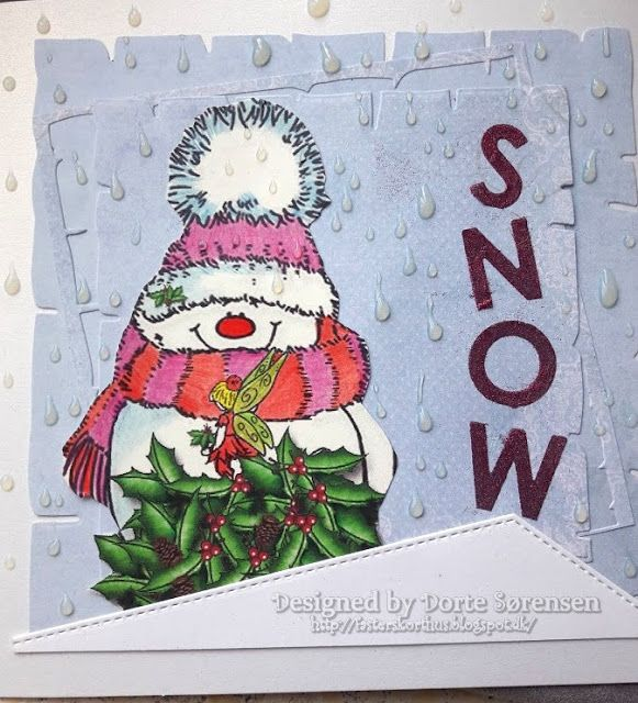 Fasters korthus: Winter snowman 3