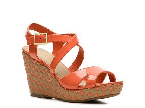 Kelly & Katie Marlene Wedge Sandal Womens Wide Width Sandals Sandals Womens  Shoes - DSW #