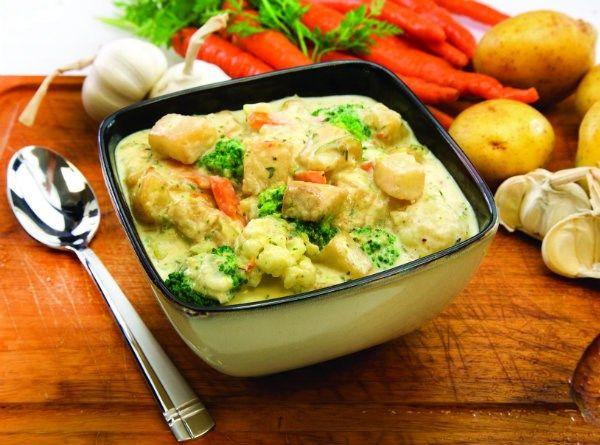 Creamy Potato Vegetable Casserole