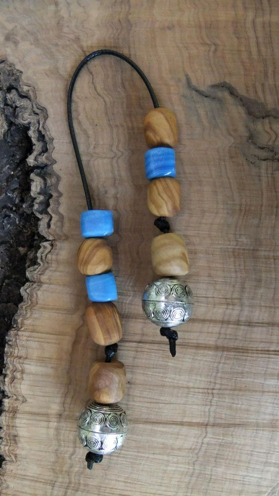 Greek Olive Wood Worry Beads or Komboloi by ellenisworkshop