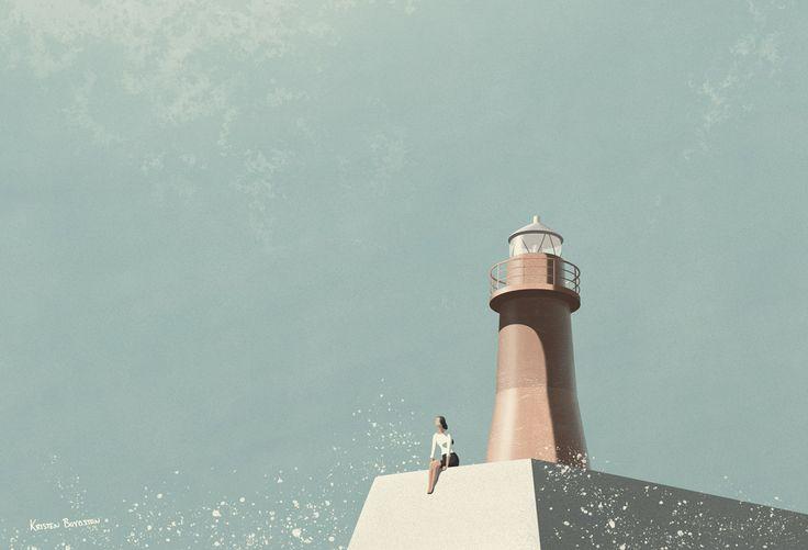 Lanterna Rossa - Kristen Boydstun Illustration