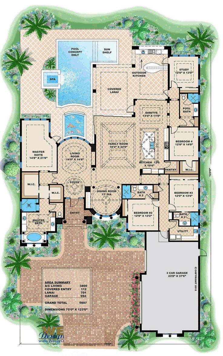 209 best planos manciones images on pinterest architecture