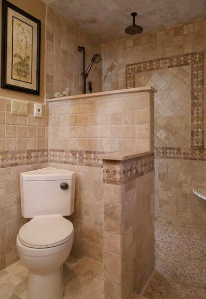 PLANNING FOR ELDERLY DAYS:  This would work as long as there is no step to walk into the shower