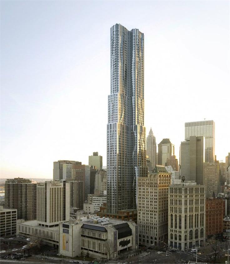 Eight Spruce Street | Lower Manhattan, New York | Frank ...