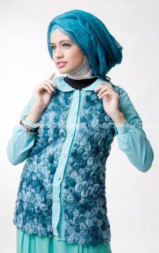 HYDRANGAE TOP - DAYANA PANTS - Pusat penjualan koleksi fashion hijab jilbab kerudung busana muslim Dena Apparel terbaru online shop store http://goo.gl/0Mlh7H