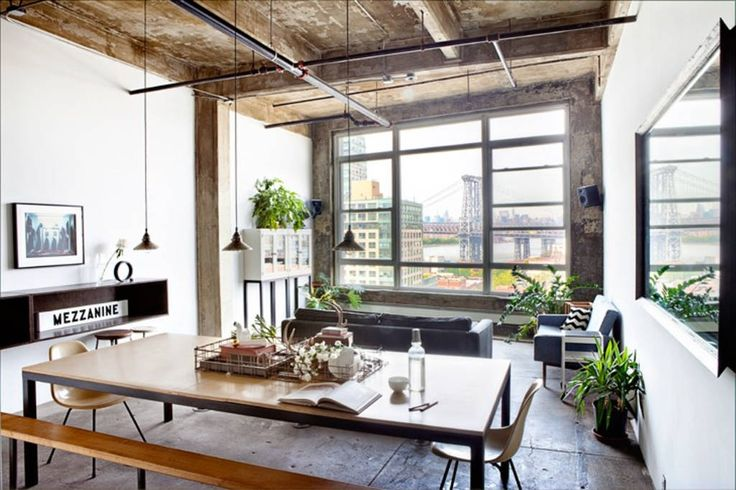 Check out this awesome listing on Airbnb: Designer Loft, Manhattan Skyline - Lofts for Rent in Brooklyn