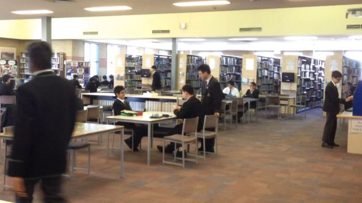 Hyperlapse to show library activity (Recess Melbourne High School Library)