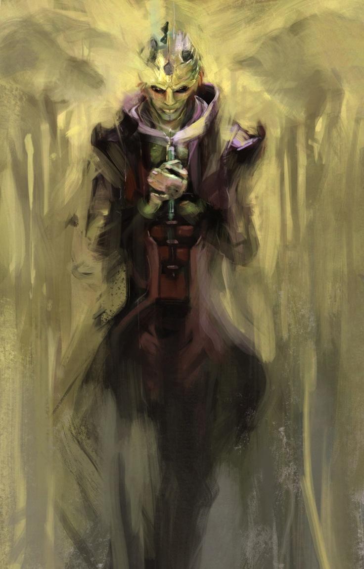 Thane Krios - Mass Effect 2