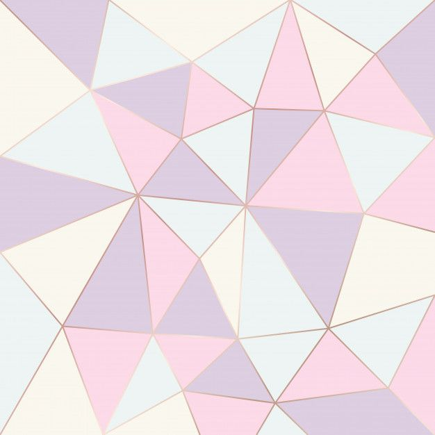 Abstract Geometric Pattern Pastel Color Premium Vector In
