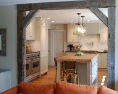 Bringing the country to our home. Arch ways - great recycling idea
