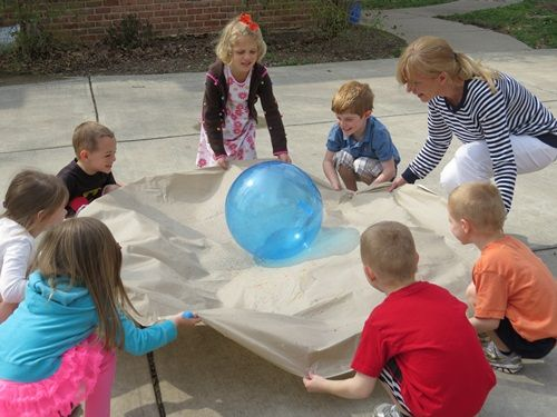 "Five activities to promote teamwork by Teach Preschool. ""The Group Plan"" activities"