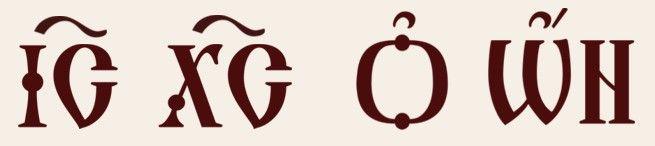 """Pierwotnie napisy na ikonach wykonywane były w języku greckim. Z czasem zaczęły pojawiać się w języku cerkiewnosłowiańskim. Obecnie coraz częściej pojawiają się napisy w językach narodowych: rosyjskim, ukraińskim, polskim czy angielskim. Ikony Chrystusa noszą napis: ΙΣ ΧΣ (IC XC), będący skrótem od greckich słów ΙΗΣΟΥΣ ΧΡΙΣΤΟΣ (IHCOYC XPICTOC). Dodatkowo, w nimb krzyżowy wpisane są inskrypcje: ὁ ὤν tłumaczone jako: """"Ten, który jest"""" (grecki odpowiednik hebrajskiego tetragramu: יהוה)"""