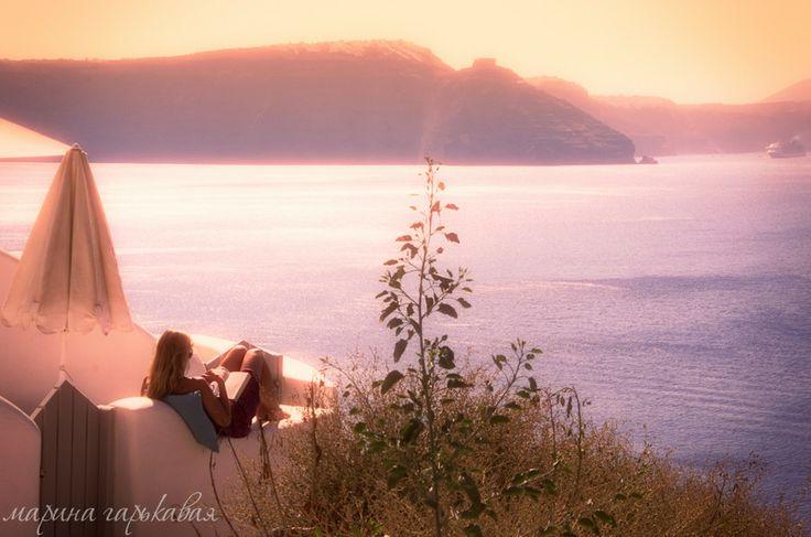 Греция. Santorini
