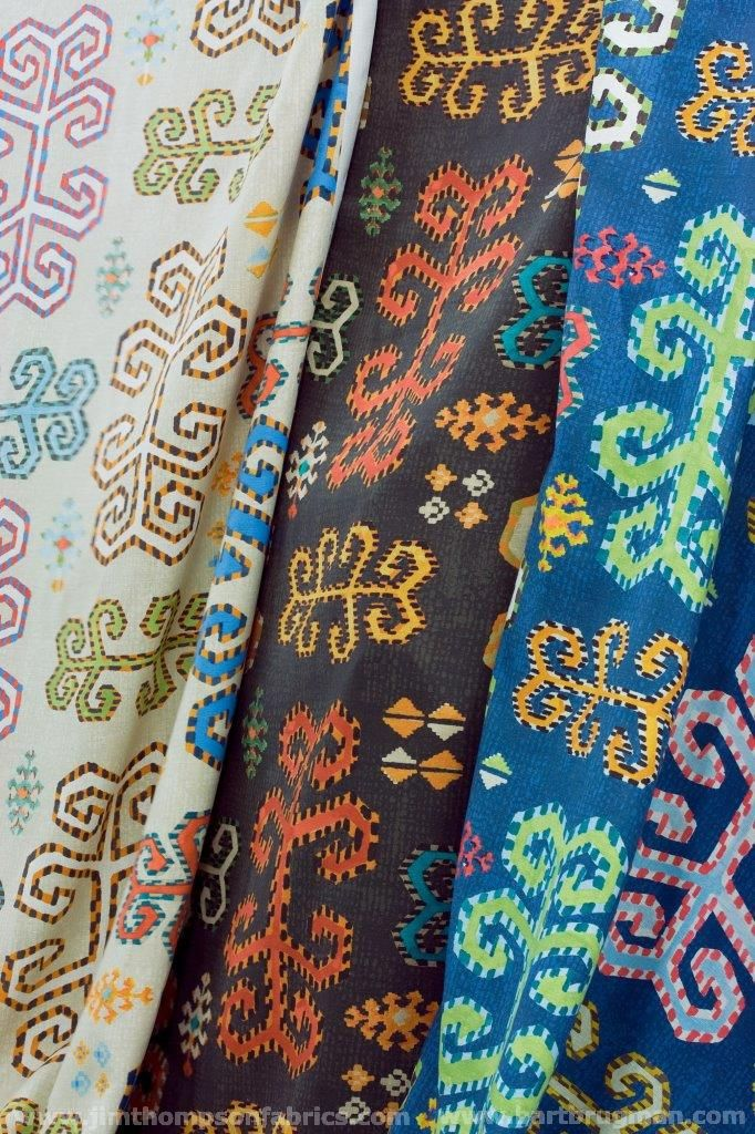JIM THOMPSON's No.9 fabric collection 'Anatolia & Fez' (january 2015) - www.jimthompsonfabrics.com - www.bartbrugman.com
