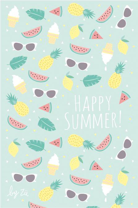 Free Summer Desktop for Smartphone