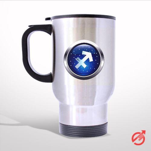 Zodiac Sagittarius Travel Mug