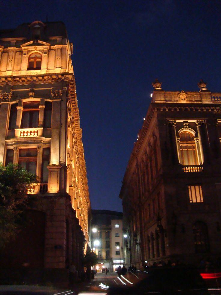 Calle Marconi, Plaza Tolsa, Centro Histórico de la Ciudad de México