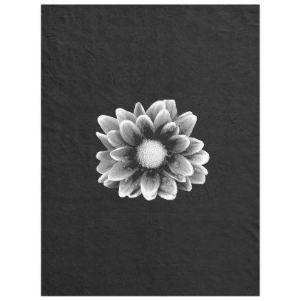 Sad Flower Fleece Blanket Black Gifts Unique Cool Diy Customize Personalize Pinterest