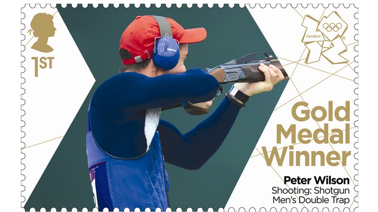 Team GB's Peter Wilson in the trap shooting.