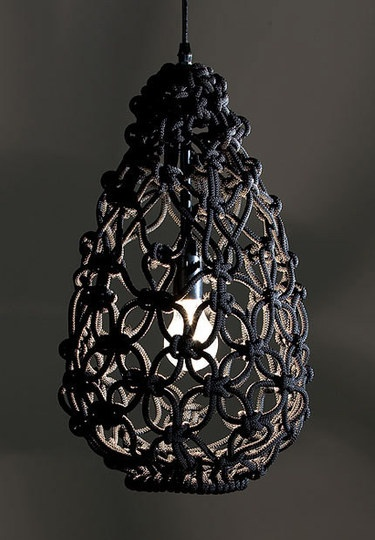 Beautiful pendant lamp see more macrame
