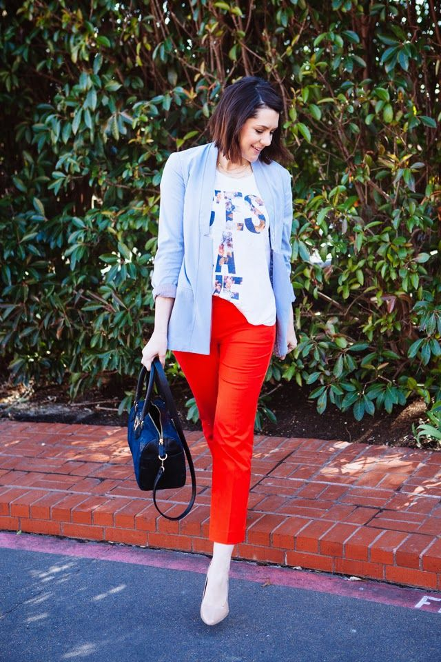 Create this look with CAbi's Wedgwood Blazer and Lobster pants!  Kendi Everyday: C'est La Vie
