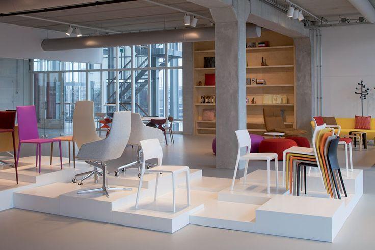 The Arper showroom at DesignPost in Amsterdam #ArchiJuice #RetailDesign