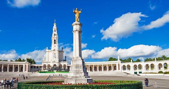 Pontos turísticos em Fátima #viagem #lisboa #portugal