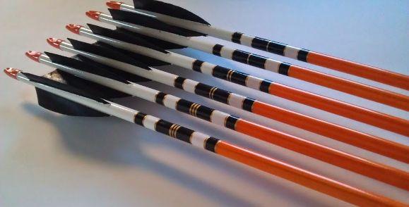 www.robinhoodarrows.com - RHA hand crested arrows - custom made, arrows, crested, cresting, archery, hunting, bow, arrow, archer, recurve, longbow, compound, Goldtip, Bodnik, Bearpaw, Easton, Carbon Express, cedar, northern pine, spruce