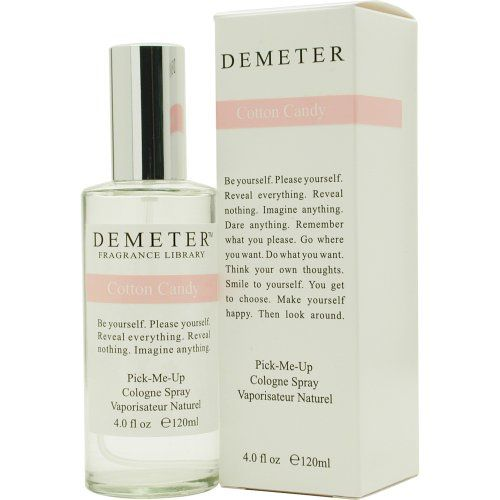 Demeter Cotton Candy Cologne Spray for Women, 4 Ounce for only $19.19 You save: $20.31 (51%)