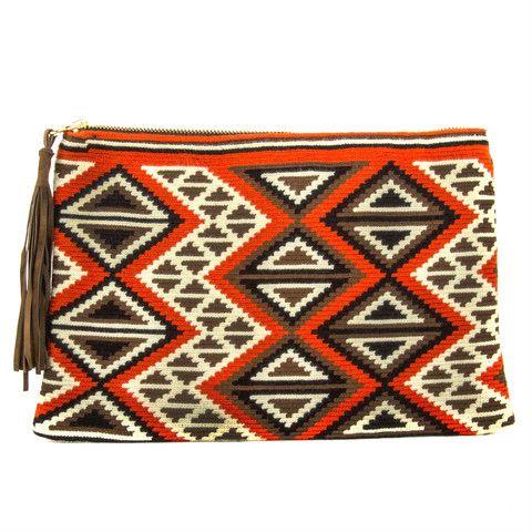 Krika Clutch - Wayuu Bags | Chila Bags