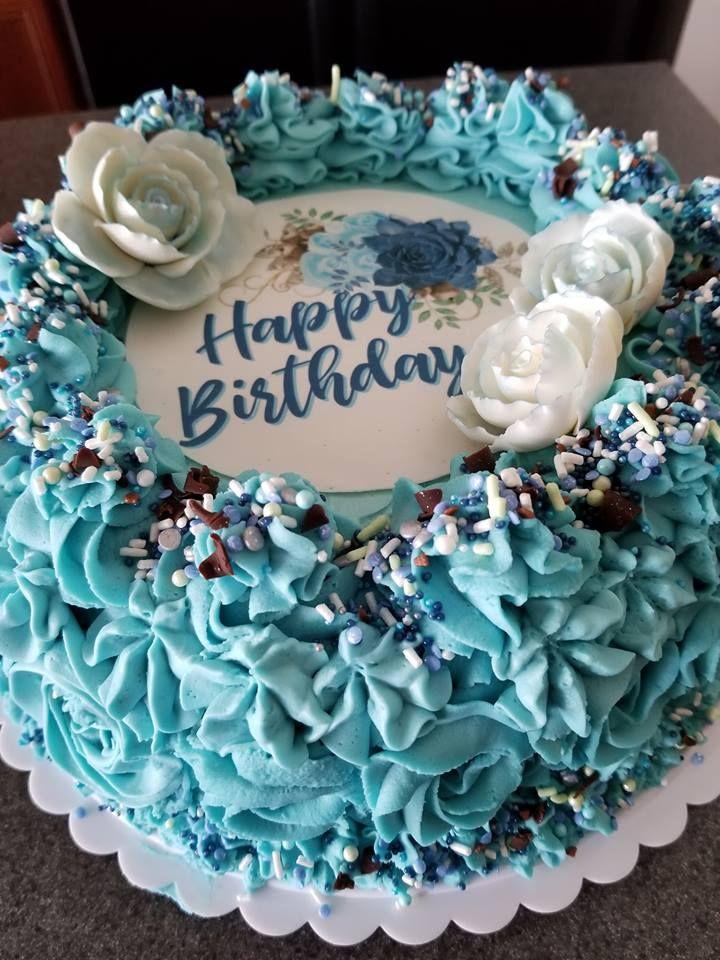 Mom S 71st Birthday Cake Chocolate Cake With Whipped Cream