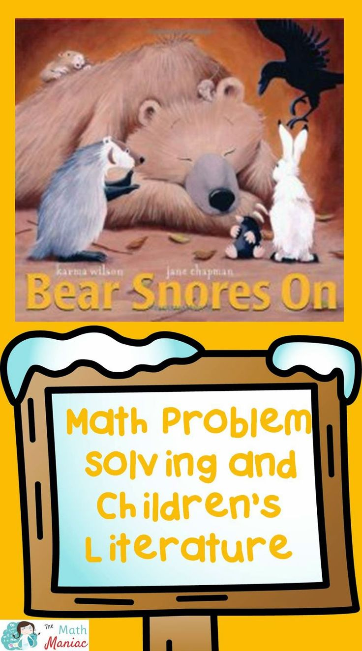 Take your literature collection to the next level with math story problems.  Grab a FREE set of story problems to use with the Bear Snores On and read more about the importance of multiplication and division story problems to develop place value understanding in primary students.