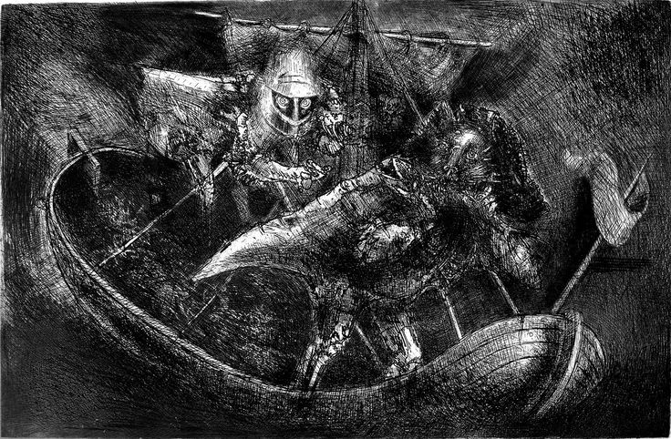 Marcelo Grassmann, Gravura em Metal, S\d | NOTA manuscrita 2014