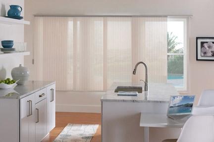 Vertical Blinds Alternative Sheer Horizontal Fabric