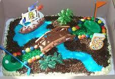 mini golf cake - Google Search