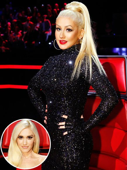 Christina Aguilera Gears Up to Break The Voice's 'Girl Curse' with Gwen Stefani's Support: I'm 'In It to Win It' This Season... The Voice season 10 tonight!!!