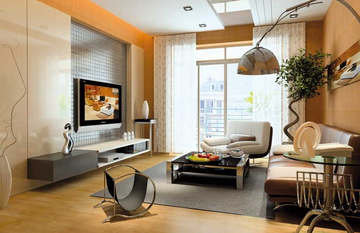 Living Room design with InteriCAD