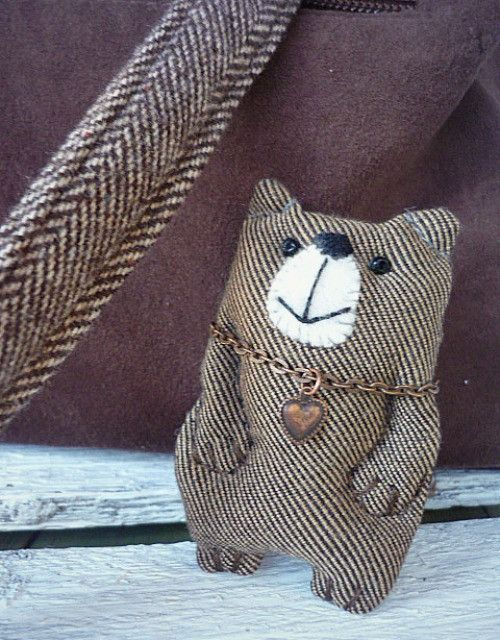The Brooch - Teddy Bear (w.fler.cz/la-vendy)