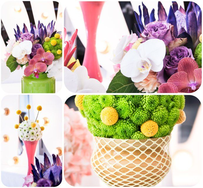 Pop of Colour photo - gorgeous florals from Fleur le Cordeur, found on the www.thelittlepinkbook.co.za