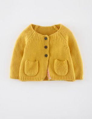 Baby Cardigan by Boden http://www.bodenusa.com/en-US/Baby-0-3yrs-Knitwear/Cardigans/71367-YEL/Baby-0-3yrs-Yellow-Baby-Cardigan.html#cs0