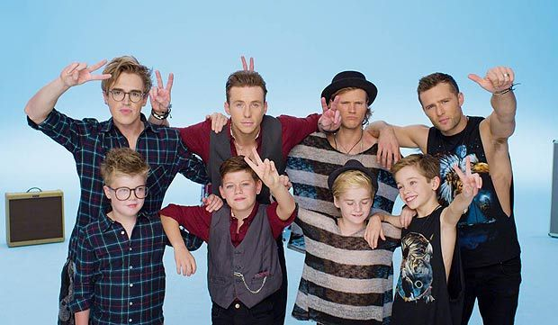 McFly and mini mcfly