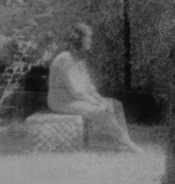 This ghost is said to be that of Dora Newman,since the gravestone is hers.