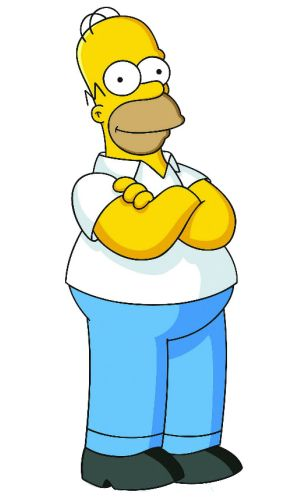 Homer Simpson is related to Greek mythology because of the Homeric simile.