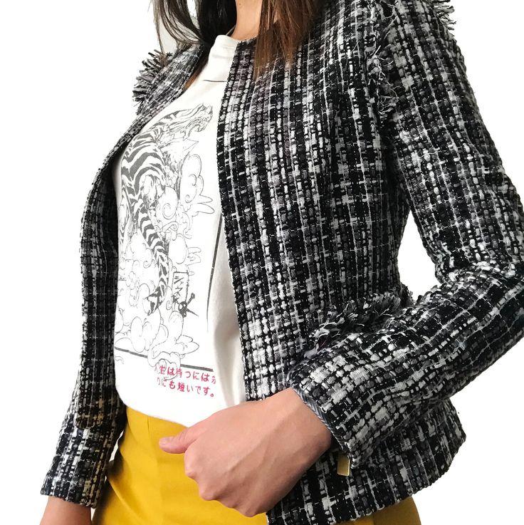"29 Likes, 3 Comments - Erin St. (@erinst_brand) on Instagram: ""Our best seller: Paris Jacket. ¡Encuéntrala en nuestro showroom! ————————————————————————— #erinst…"""