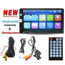 """2 DIN 7"""" Car Radio Player HD Rear View Camera Bluetooth Stereo FM MP3 MP4 MP5 Audio Video USB Auto Electronics autoradio charger     Tag a friend who would love this!     FREE Shipping Worldwide     Get it here ---> http://cheapdoubledinstereo.com/products/2-din-7-car-radio-player-hd-rear-view-camera-bluetooth-stereo-fm-mp3-mp4-mp5-audio-video-usb-auto-electronics-autoradio-charger/    #ctsounds"""