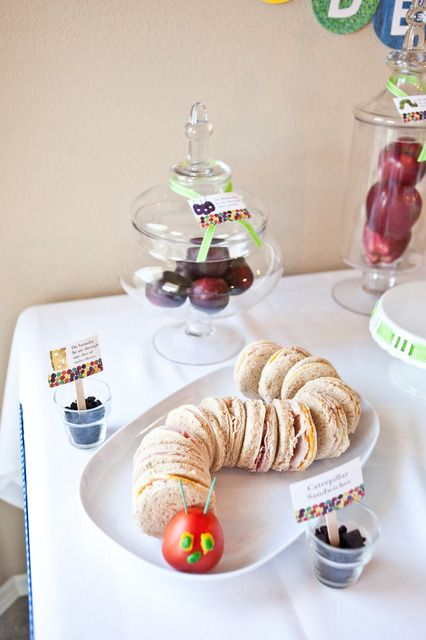 """Photo 15 of 46: The Very Hungry Caterpillar / Birthday """"Anderson's 1st Birthday"""" 