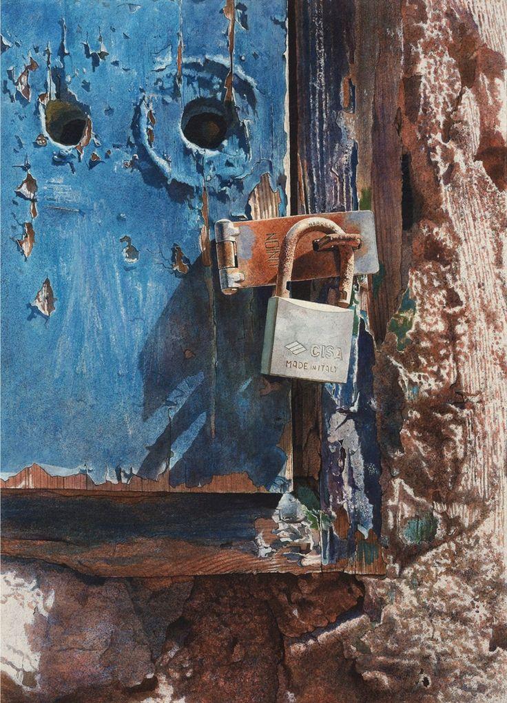 Angus McEwan  |  Worn Out  |  Watercolour  |  29'' x 21'' Thompsons Galleries…